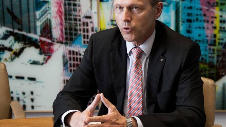 Jörg Müller-Ganz, Präsident der Staatsbank ZKB, fordert 471600 Franken Jahreslohn – deutlich mehr als ein Regierungsrat.Christoph Voellmy
