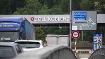 Der Grenzübergang Koblenz-Waldshut blieb während der Corona-Pandemie geöffnet.