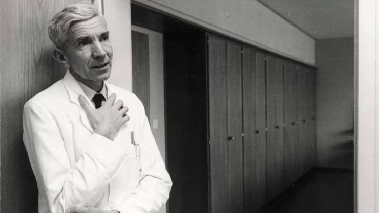Roland Kuhn in früheren Jahren.