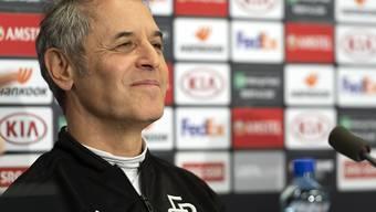 Trainer Marcel Koller will den Erfolg des FC Basel in der Europa League fortführen