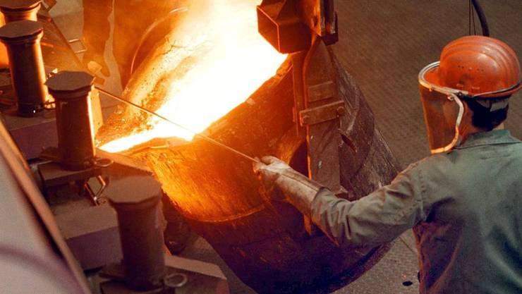 Das Produktionsvolumen der 45 Schweizer Giessereien ist 2019 um rund neun Prozent zurückgegangen. (Archivbild)