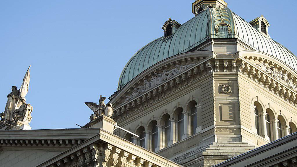 Die Bundeskasse ist prall gefüllt: Der Bund erzielte 2018 einen Überschuss von 2,9 Milliarden Franken.