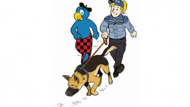 Auf zu neuen Abenteuern: Im aktuellen Band ist Globi mit der Zürcher Stadtpolizei unterwegs.
