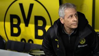 Unter Druck: Lucien Favre, Trainer Borussia Dortmund (Bild: Keystone).