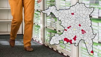 In Staufen, Geltwil und Dietwil ist der Steuerfuss 2019 gesunken.