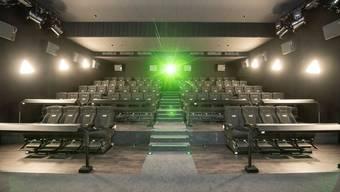 Leere Ränge im  Kitag Cinedom in Abtwil (Archivbild).