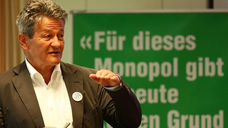 Ärzteverbandspräsident Hans-Ulrich Iselin: Ja zur Ärzte- und Nein zur Apotheker-Initiative.