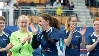 Jessica Vogel (Mitte) wurde Matchwinnerin des Cupfinales