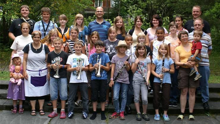 Im Jugendspiel Mümliswil-Ramiswil werden alle vereint sein, die bereits etwas älteren treten als Wood Wind an.