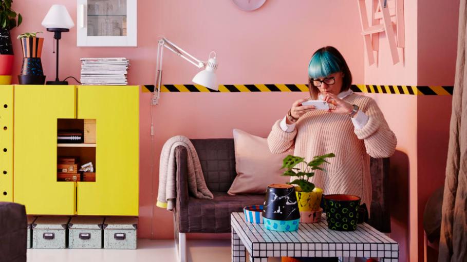 «Bringe deine Persönlichkeit zum Ausdruck!», findet Ikea.