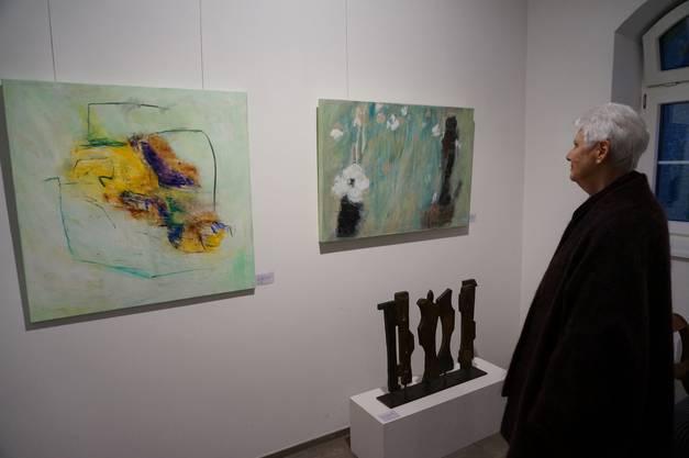 Vernissage von Idlette Villigers Werke in der Bachlechner-Galerie