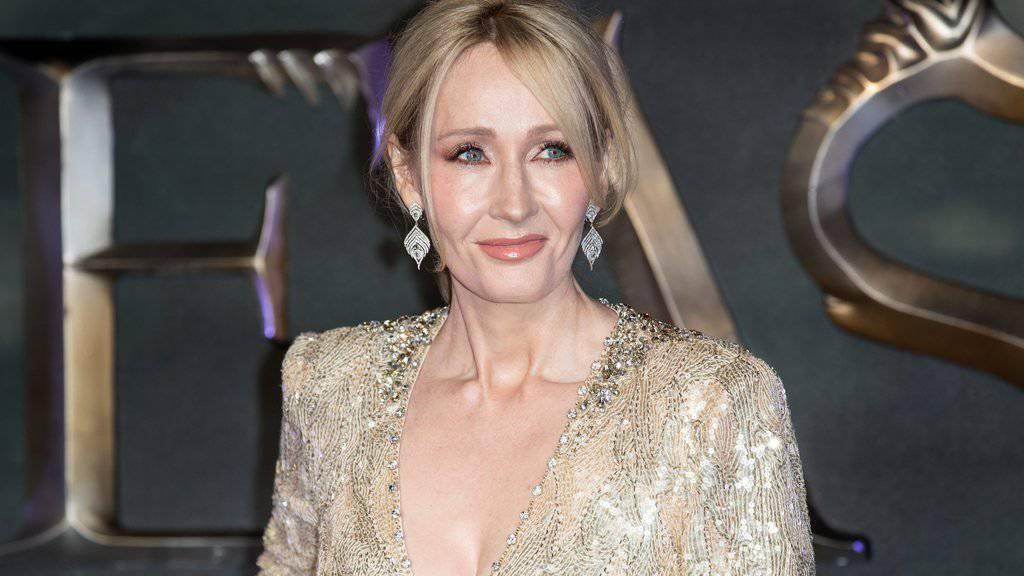 """Kann ihren Erfolg noch immer kaum fassen: """"Harry Potter""""-Autorin J.K. Rowling hält sich für den grössten Glückspilz der Welt."""