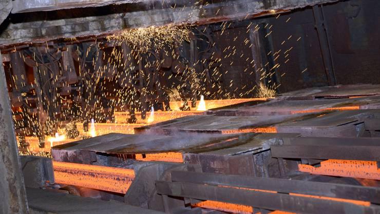 Der Absatz im Bereich Profilstahl ist weiterhin zu tief. Deshalb muss die Stahl Gerlafingen Mitarbeiter entlassen.