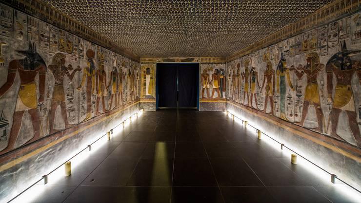 «Scanning Sethos» im Antikenmuseum Basel
