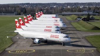 Der Flughafen Zürich ist zum Stillstand gekommen. Der Betrieb wird jedoch aufrecht erhalten.