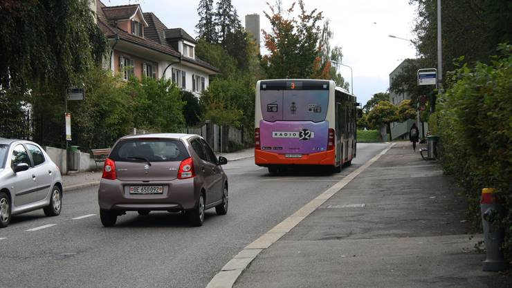 Künftig könnte auch der BSU mit Tempo 30 auf der Schöngrünstrasse leben.