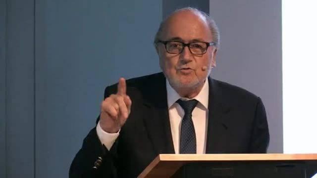 """Sepp Blatter redet an FC Thun-GV: """"Das tut mir psychisch sehr gut"""""""