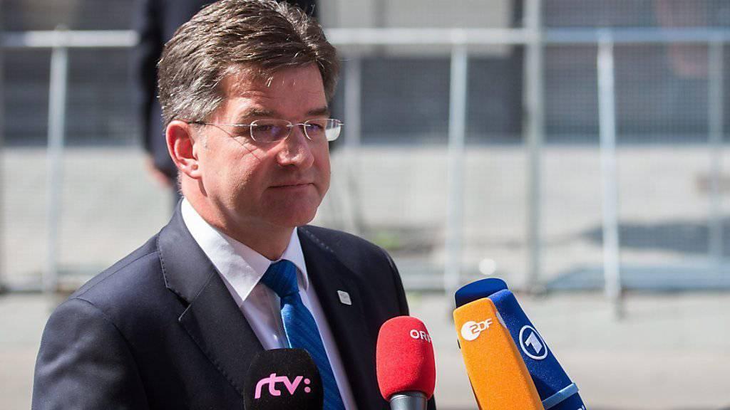 Für der slowakischen Aussenminister Miroslav Lajcak ist die Türkei ein wichtiger Partner. Die Slowakei hat zurzeit den EU-Vorsitz inne.