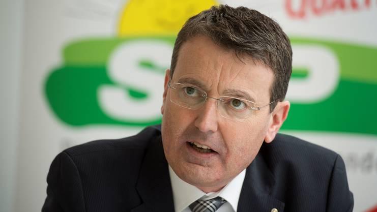«Die steigenden Kosten bekommen wir nur in den Griff, wenn wir die Eigenverantwortung stärken»: Thomas Burgherr, SVP-Nationalrat und Präsident der SVP Aargau.