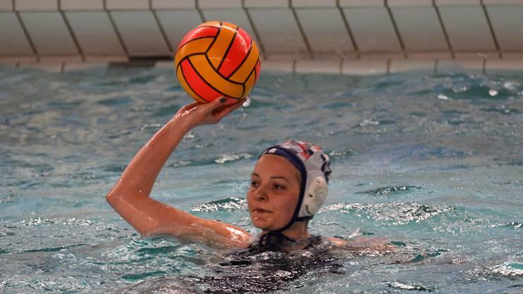 Cathrin Schödler vom WSV Basel im Spiel