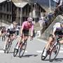 Die letzte Bergetappe des aktuellen Giros führte gleich dreimal nach Sestriere hinauf