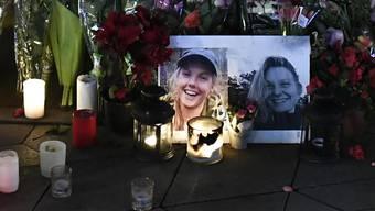 Trauerort in Kopenhagen für die Rucksack-Touristinnen aus Dänemark und Norwegen, die in Marokko Opfer eines Terroraktes geworden sind.