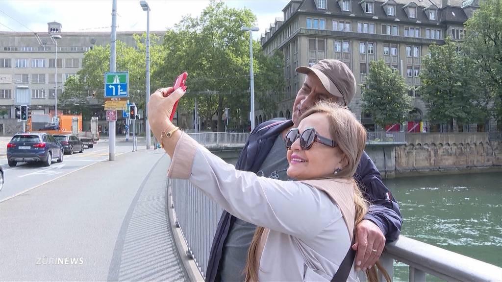 Nur langsame Erholung: Wieder mehr Touristen in Zürich