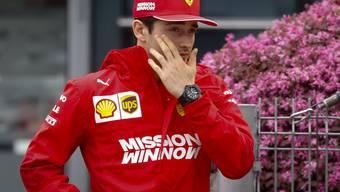 Setzt Ferraris Teamleader Sebastian Vettel gehörig unter Druck: Charles Leclerc