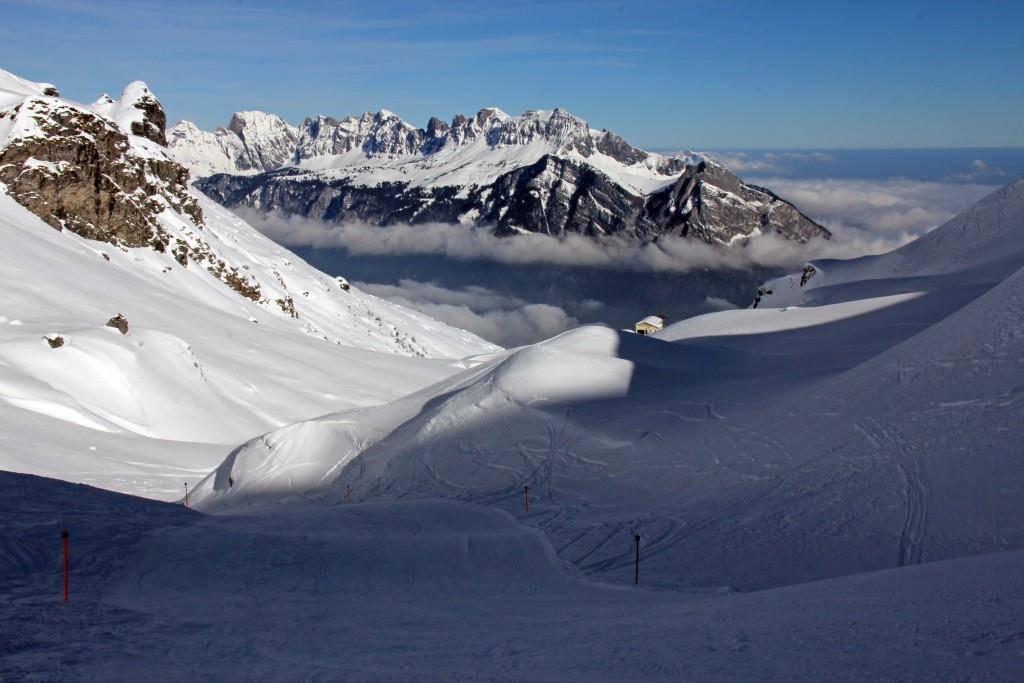 Auf dem Pizol freut man sich über die wetterabhängigen Skitickets (© flickr/Pizolbahnen)