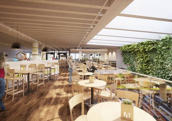 Visualisierung des Migros-Restaurants