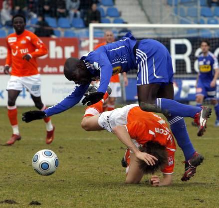 Für die Saison 2008/2009 wurde der Ghanaer an den FC Luzern ausgeliehen.