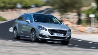 Peugeot, 508, Kombi, Hybrid, PSA, Citroën