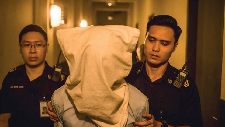 Auf dem Weg zur Hinrichtung in Singapur (aus dem Film «Apprentice»).  Alamy