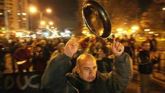 Nun protestieren auch Studenten in Brasilien (Archivbild einer Studenten-Demonstration in Chile)