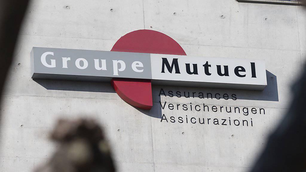 Die Schweizer Krankenversicherungsgesellschaft Groupe Mutuel mit Hauptsitz in Martigny VS wurde im Dezember 2017 von Unbekannten gehackt. Die Täter sitzen nun in Untersuchungshaft. (Archivbild)