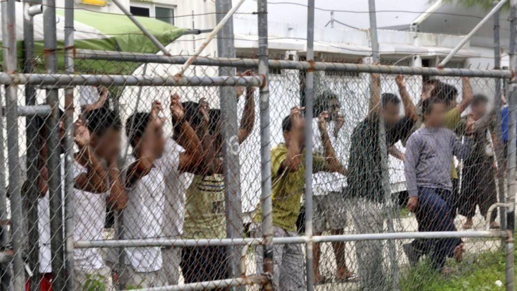 Australien schliesst sein Internierungslager für Flüchtlinge auf Papua-Neuguinea - jedoch nicht freiwillig. (Archiv)