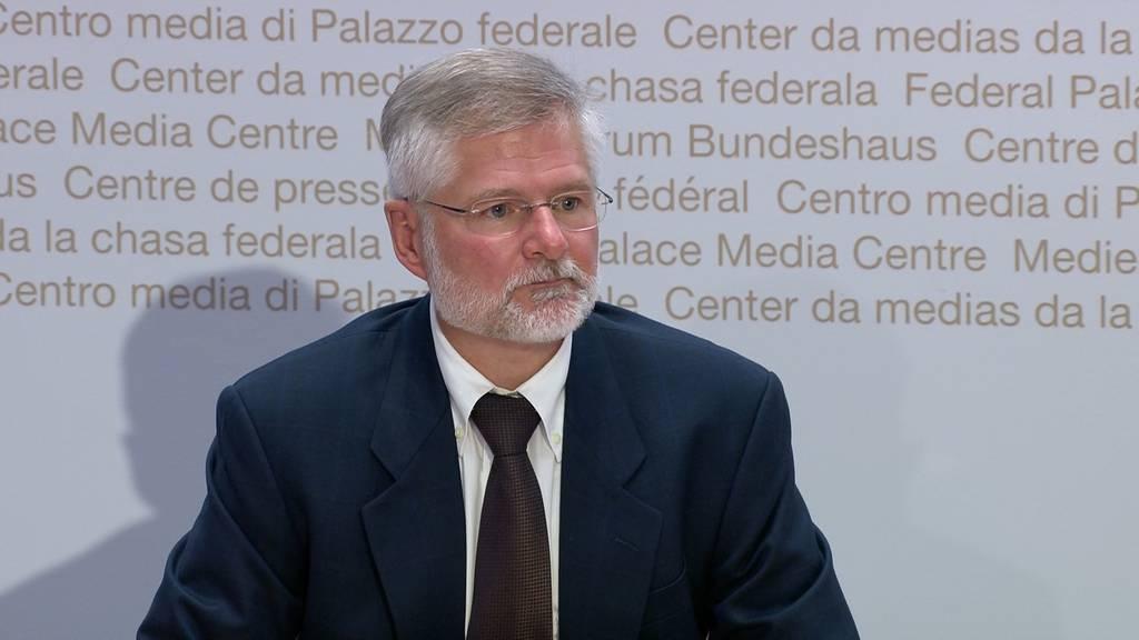 Kantonsarzt Hauri: «Die Beatmungsgeräte werden nicht limitierend sein»