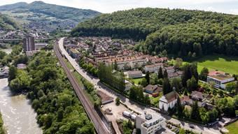 Der Badener Stadtrat will 2020 auf eine Steuerfusserhöhung verzichten. Das Foto zeigt das Quartier Kappelerhof.