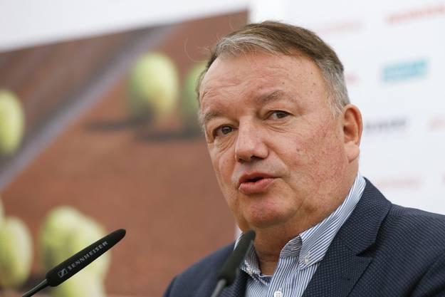 Swiss-Tennis-Präsident René Stammbach unterstützt Schneggs Visionen.