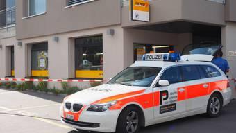 Post-Überfall Wangen bei Olten.