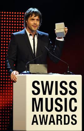 Der Aargauer gewinnt einen Swiss Music Award in der Kategorie Best Album Pop Rock National