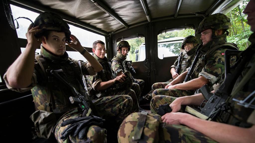 Militär hilft Luzerner Kantonsspital