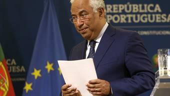 Streit um Lehrergehälter: Portugals Ministerpräsident Antonio Costa droht mit Rücktritt. (Archivbild)