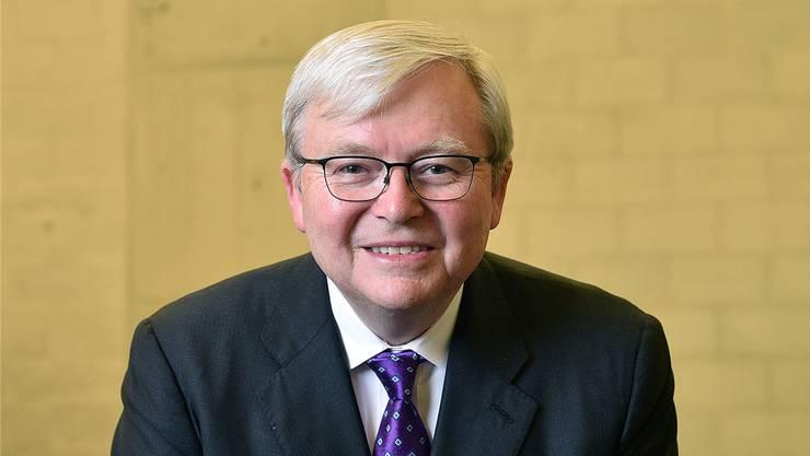 Für die intellektuelle Freiheit würde er sein Leben geben: Vielleser und Ex-Premier Kevin Rudd.