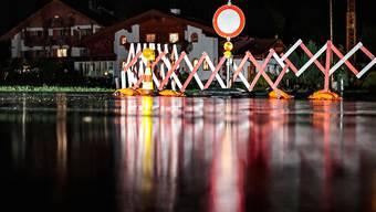 Mehrere Strassen gesperrt: In Österreich kam es am Donnerstag zu heftigen Gewittern mit schweren Schäden.