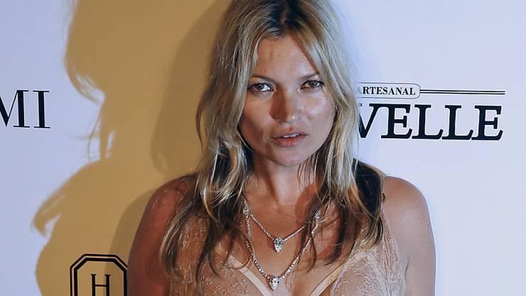 Böses Mädchen: Kate Moss muss aus Flugzeug eskortiert werden (Archiv)