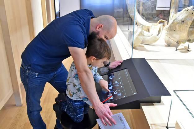 Das Museum lässt sich auch interaktiv erleben.