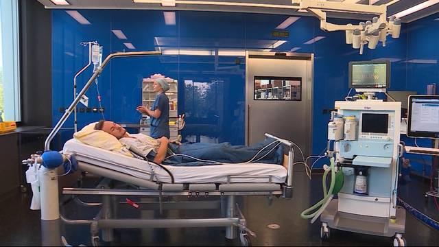 Alarm im Spital Baden