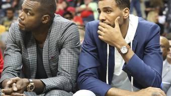 """Führte in Südafrika, dem Heimatland seines Vaters, die """"afrikanische"""" NBA-Auswahl an: Thabo Sefolosha (rechts)"""