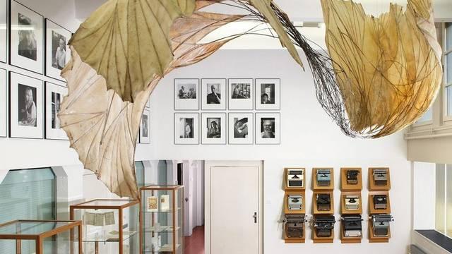 Der Schau-Raum des Schweizerischen Literaturarchivs SLA in Bern, der Hesse-Saal